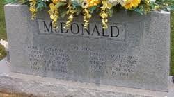 Avery Elvis McDonald (1913-1991) - Find A Grave Memorial