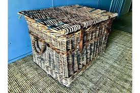 baskets for under coffee table