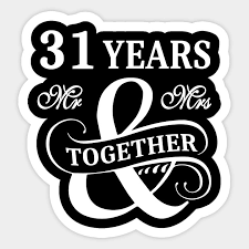 shirt 31 years mr mrs