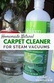 homemade natural carpet cleaner for