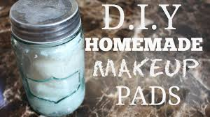 diy homemade makeup remover pads you