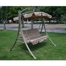 metal garden swing chair load capacity