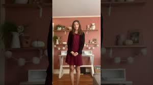 NATS 2020 Musical Theatre-My New Philosophy Abigail Jordan - YouTube
