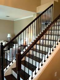 Staircase Railings Designs Stair Rail Railing For Stairs Best Stairway Handrail Design Wood Home Elements And Style Metal Baluster Ideas Iron Indoor Crismatec Com
