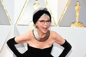 Rita Moreno Is Wearing Her 1962 Oscar Dress to the 2018 Awards - Racked