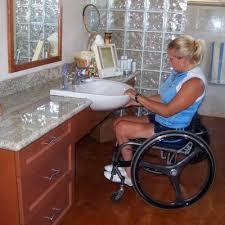 accessible bathroom sink