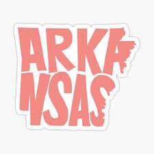 Arkansas Stickers Redbubble