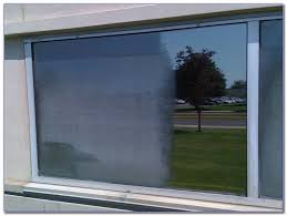 hard water stains from glass windows