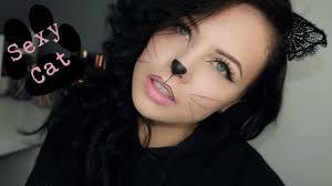 y cat halloween makeup 4 steps