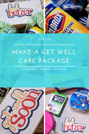 care package for cold and flu season