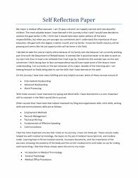 portfolio reflection essay exle