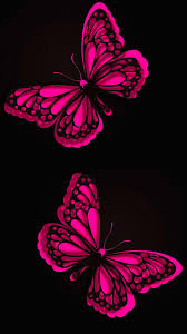 mobile wallpapers pink erfly 2020
