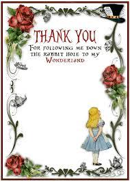 Alice In Wonderland Birthday Party Invitation Vintage Design
