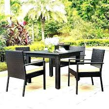 furniture small deck patio table