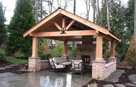 outdoor covered patio house design