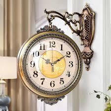 vintage silent wall clock decor antique