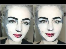 marilyn monroe pop art makeup
