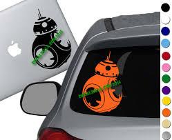 Star Wars Bb8 Decal Sticker