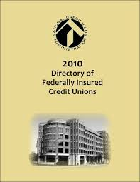 credit union directory 2010 ncua