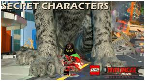 The LEGO Ninjago Movie Video Game - ALL SECRET CHARACTERS (Part 2) - NPC -  YouTube