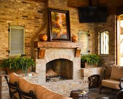 20 gorgeous brick fireplace designs