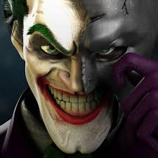 desktop wallpaper joker face off
