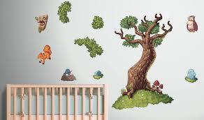 Fairytale Tree Wall Sticker Kids Decals Vinyl Impression