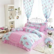 light blue blush green and hot pink