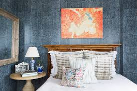 a blue bedroom that is the definition