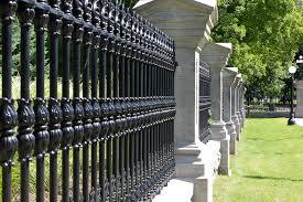 Cast Iron Fence Alloy Foundry