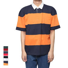 rugby shirt polo shirt short sleeved