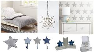 Star Themed Kids Room Rustic Baby Chic