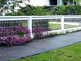 small fences for front yards