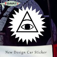 Fashion Design Illuminati God Vinyl Decal For Car Window Laptop Removable Eye Of Providence Sticker Car Styling Accessories Decals For Cars Vinyl Decalfor Car Aliexpress