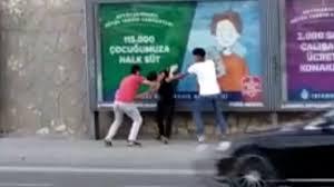 İstanbul'da tuvalette başlayan tekme tokat kavga sokağa taştı ...