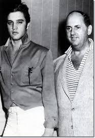 Elvis Presley with Colonel Tom Parker. October, 1956. | Elvis presley,  Elvis presley photos, Elvis