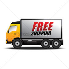 Free shipping truck Vector Image - 1535097   StockUnlimited