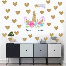 Hot Fantasy Unicorn Stars Rainbow Wall Sticker Girls Bedroom Wall Decal Art Decal Diy Nursery Home Decor Wall Stickers Decor Wall Stickers Decoration From Qiansuning888 4 04 Dhgate Com