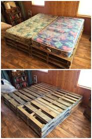 25 pallet bed frame you can build with