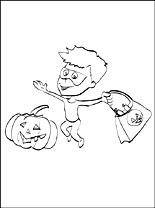 Halloween Gratis Kleurplaten Pagina 2