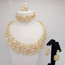 african costume 18k gold plated
