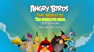Angry birds the musical we hate green pigs (SFD Version) 200 ...