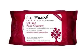 la fresh oil free face cleanser wipes