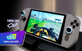 CES20: Trên tay Alienware UFO, máy chơi game cầm tay chạy Windows, kiểu  dáng giống Nintendo Switch