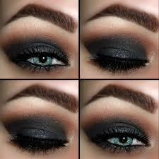 how to apply smokey black eye makeup