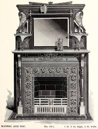 victorian fireplaces from 1880