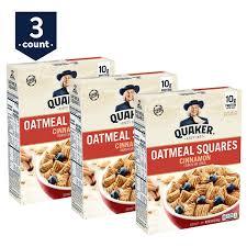 quaker oatmeal squares cinnamon 14 5