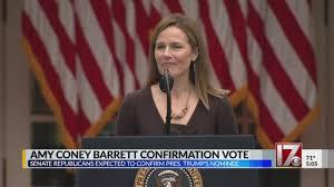 Amy Coney Barrett confirmation vote ...