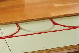 floor heat over existing concrete