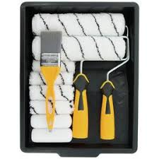 Paint Brushes Rollers Paint Roller Sets Argos